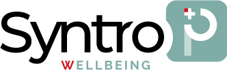 Syntro-p wellbeing logo